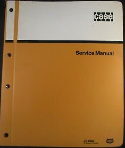 Case 450 Crawler Tractor dozers And Loaders Service Manual