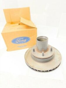 New Oem 1994 1996 Ford F 150 Bronco 4wd Front Disc Brake Rotor Hub F3tz 1102 a