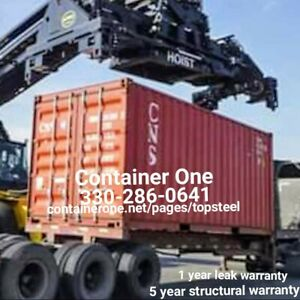 20 And 40 Steel Conex Storage Shipping Containers In Cincinnati Oh