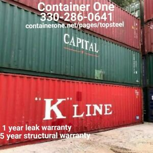 20 And 40 Steel Conex Storage Shipping Containers In St Louis Mo