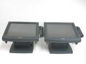 Lot Of 2 Posiflex Tp6000 Touch Terminal