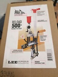 Lee Pro 1000 progressive 3 hole reloading kit for .223 Rem (90633)