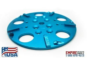10 Concrete Grinding Head For Edco Blastrac Floor Grinders Pcd Epoxy Removal