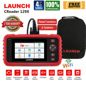 Launch X431 Crp129x Obd2 Scanner Abs Srs Engine Epb Tpms Diagnostic Code Reader