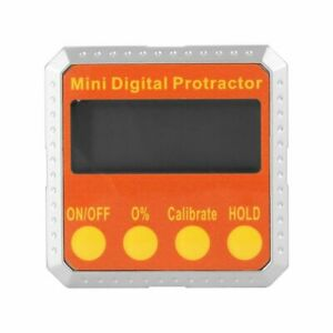 360 Digital Protractor Inclinometer Angle Gauge Meter With Magnetic Base
