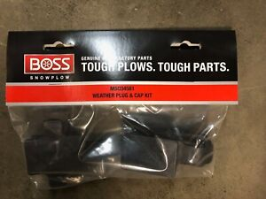 Boss Snow Plows Weather Plug Cap Kit Msc04581