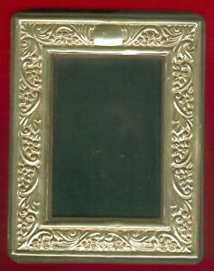Antique Hallmarked Sterling Silver Photo Frame