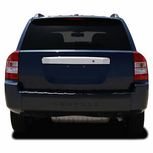 Rear Door Molding Cover For 2007 2013 Jeep Compass Chrome W Keyhole Premium Fx