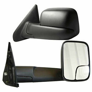 Towing Mirrors For 2002 2008 Dodge Ram 1500 Manual Premium Fx