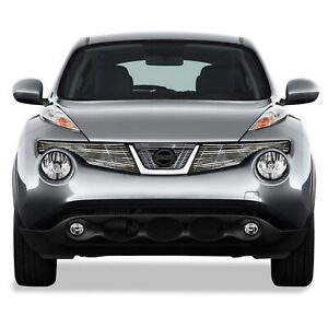 Top Billet Grille Insert For 2011 2013 Nissan Juke 3pc Chrome Premium Fx