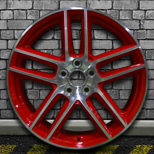 Machined Red Oem Factory Rear Wheel For 2012 2013 Ford Mustang 19x10