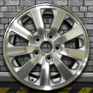 Bright Medium Sparkle Silver Oem Factory Wheel For 2008 10 Honda Odyssey 16x7
