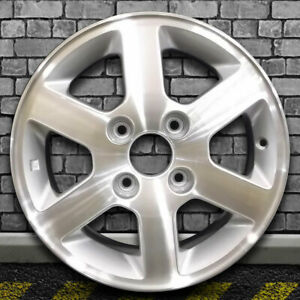 Machined Bright Sparkle Silver Oem Wheel For 1998 1999 Honda Accord 15x6
