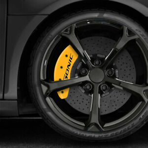 Yellow Mgp Caliper Covers W sonic For 2013 2016 Chevy Sonic Rs
