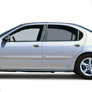Pillar Post Covers For 2000 2003 Nissan Maxima Stainless Steel 6p