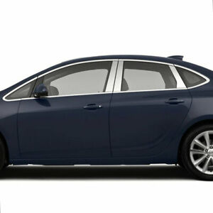 Pillar Post Covers For 2012 2019 Buick Verano Stainless Steel 6p