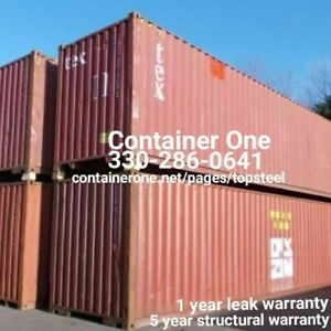 20 And 40 Steel Conex Storage Shipping Containers In Dallas Tx