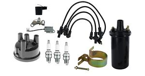 Ford Tractor Tune Up Kit With Usa Copper Wires 2000 3000 3600 4000 4610 1965