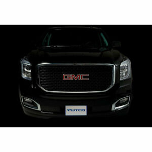 Black Aluminum Denali Style Grille Insert For 2015 2018 Gmc Yukon Xl By Putco