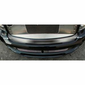 Front Bumper Cap For 2004 2005 Dodge Ram 1500 Srt 10 Stainless Steel Brushed