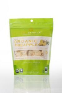 Sol Simple Dried Pineapple Case Of 6 6 Oz