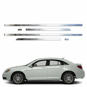 6p Stainless 1 Accent Trim Fits 2011 2014 Chrysler 200 By Brighter Design