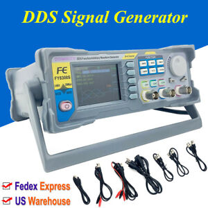 60mhz Dds Signal Generator Arbitrary Waveform 3 channel 2 4 Tft Color Lcd Us St