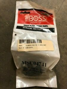 Boss Snow Plows High Beam Headlight Bulb 9005 Msc04741
