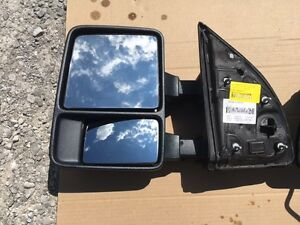 Blem 2008 2016 Ford Superduty Manual Driver Side Tow Mirror Oem Dc34 17683 A