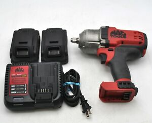 Mac Tools Bwp151 20v 1 2 dr Impact Gun Wrench Socket High torque Cordless 2 Batt