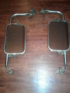 Vtg 1967 1972 Ford F100 F250 73 79 Truck West Coast Junior Jr Tow Mirror Towing