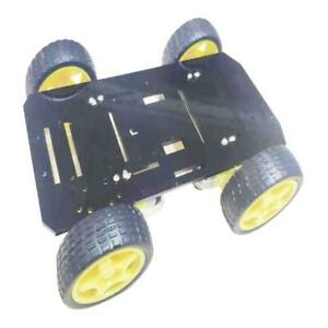 4 Wheel Robot Smart Car Chassis Kits With Speed Encoder For Diy