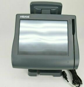 Micros Workstation Ws4 Lx Touchscreen Retail Pos System Terminal With Lcd Screen