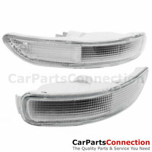 Front Bumper Signal Corner Light Lamp Clear Lens For Toyota Corolla 93 97 E100