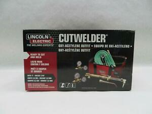 Lincoln Electric Cutwelder Kh995 Cut Welder Kit Oxy acetylene Outfit