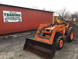 1984 Kubota L275 4x4 Compact Tractor W Loader Cheap Compact Tractor