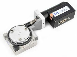 Pi Physik Instrumente M 037 00 Rotation Stage W worm Gear Drive Assembly
