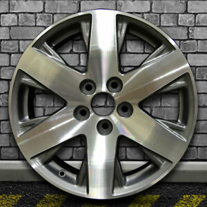 Machined Dark Sparkle Charcoal Oem Wheel For 2014 Honda Ridgeline Se 18x7 5