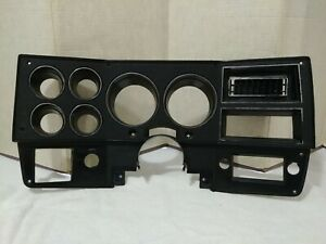 1980 1981 82 83 1984 Chevy Gmc Truck Instrument Cluster Dash Bezel Oem With Ac