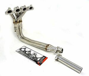 Performance 2 5 Exhaust Header For 90 91 Honda Prelude 2 0l 2 1l By Obx R