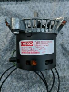 Fasco 7121 7840 Draft Inducer Blower Motor 115v Type U21b