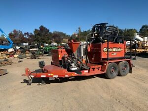 2015 Ditch Witch Mr90 Mud Recycler low Hours 443 Hrs work Ready Unit