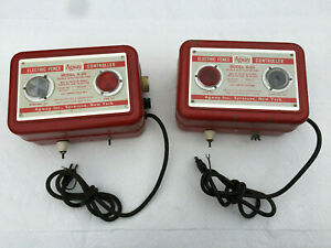 Vtg Heavy Duty Agway A 20 Electric Fence Charger Usa Made Deer Garden Livestock