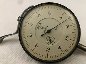 Scherr Tumico 001 Two Dial Indicator Made In England W Lever