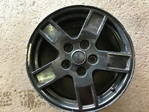 2005 2007 Jeep Grand Cherokee Wheel Black Painted