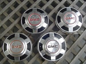 Gmc Jimmy Chevrolet Pickup Truck Blazer Van Dogdish Hubcaps Wheel Covers 3 4 Ton