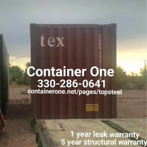 20 And 40 Steel Conex Storage Shipping Containers In Kansas City Mo