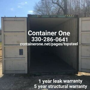 20 And 40 Steel Conex Storage Shipping Containers In Miami Fl