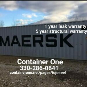 20 And 40 Steel Conex Storage Shipping Containers In New Orleans La
