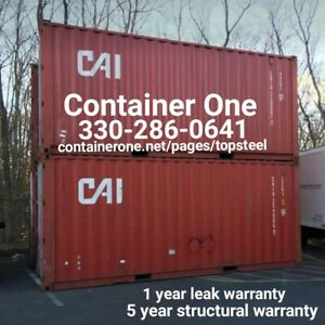 20 And 40 Steel Conex Storage Shipping Containers In Savannah Ga
